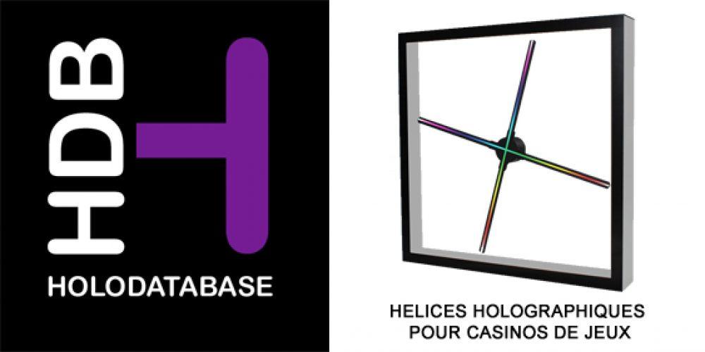 CAPS INTERNATIONAL crée HOLODATABASE.COM et lance la technologie holographique dédiée aux Casinos de Jeux