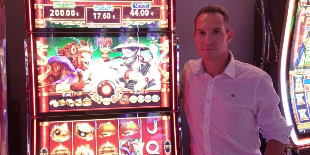 Première installation ZITRO pour CAPS INTERNATIONAL au Casino de Boulogne sur Mer