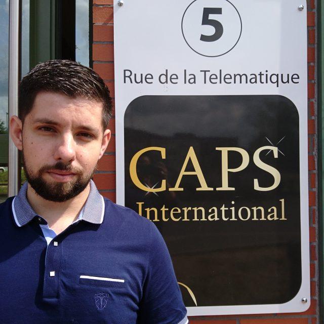 Alexis Amoros intègre l'équipe de CAPS INTERNATIONAL