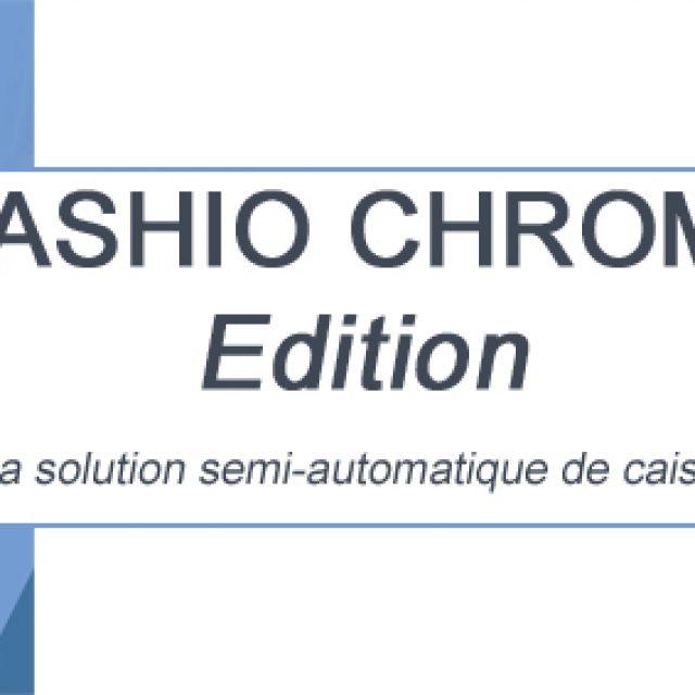 CAPS lance la solution de caisse semi- automatique CASHIO CHROME Edition